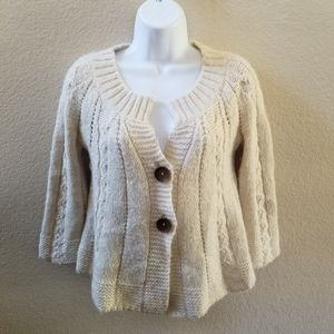 Free People Chunky Knit Cardigan Size XS